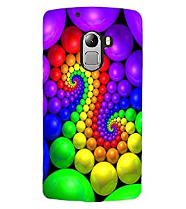 ColourCraft Lovely Colourful Design Back Case Cover for LENOVO A7010