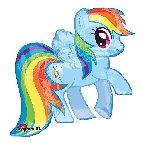 amscan Folienballon Rainbow Dash 71 cm (Party Dash Rainbow)