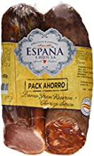 España Pack Ahorro de Lomo y Chorizo Ibérico -  950 gr