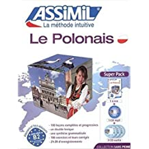 Superpack Polonais (livre + 3 CD audio + 1 CD mp3)