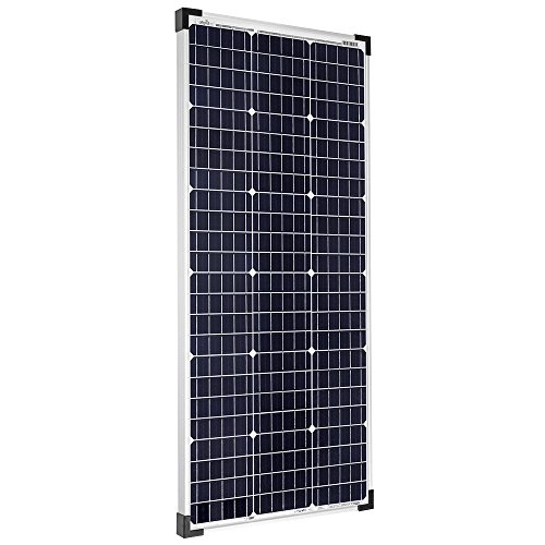 Offgridtec 100W 36V Solarmodul monokristallin ideal für 12V und 24V Batterieladung