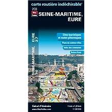 Seine-Maritime, Eure : 1/180 000
