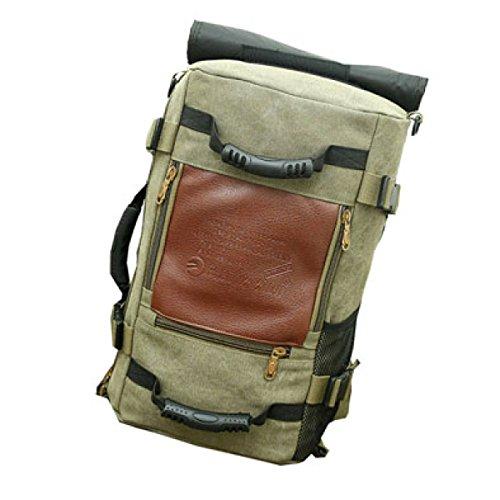 Rucksack Männlichen Koreanischen Leinwand Rucksack Multi-Funktions-große Kapazität Reisetasche Gezeiten Freizeit Outdoor-Bergsport Tasche Sport Männer,B-50*20*30cm