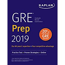 GRE Prep 2019: Practice Tests + Proven Strategies + Online (Kaplan Test Prep) (English Edition)