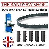 Scheppach BASA 1.0Lames de scie à ruban