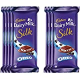 Cadbury Dairy Milk Silk Chocolate Bar, Oreo, 60g (Pack Of 7)