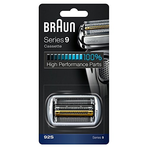 Price comparison product image Braun 92S Series 9 Electric Shaver Replacement Foil and Cassette Cartridge - Silver