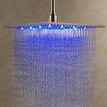 ALFRED® 12 pollici in acciaio inox soffione doccia con luce led cambia colore