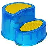 Trittschemel / Tritthocker / Kindersitz - groß - BLAU - Kinderschemel & Kindertritt - ideal als Erhöhung & Sitz - Kinderhocker - auch für Toilettentrainer - für Kinder Mädchen Jungen