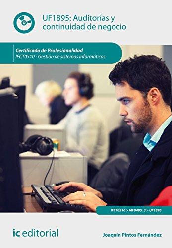 Auditorías y continuidad de negocio. IFCT0510 por Joaquín Pintos Fernández