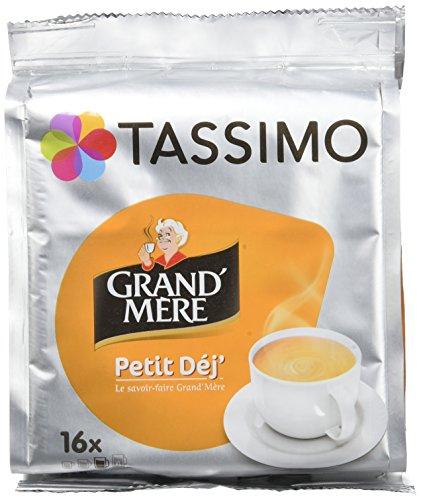 TASSIMO Grand'Mère Petit Déjeuner 16 Tdisc - Pack de 5 (80 Tdisc)
