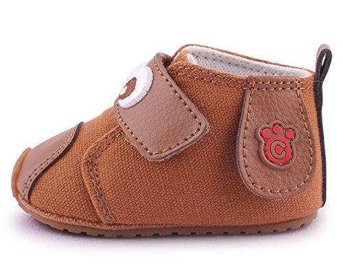 Cartoonimals Chaussures bébé enfant Chaussons Infantile Labra Taupe