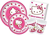 Ciao Y4307 – Kit Party in Tisch Hello Kitty Hearts, Pink/Weiß