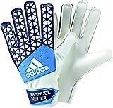 adidas Kinder Torwarthandschuhe ACE Pro Manuel Neuer, Blau/Weiß, 9, AH7792