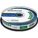 MediaRange MR450 4.7GB DVD-RW 10pieza(s) DVD en blanco - DVD+RW vírgenes (4,7 GB, DVD-RW, 10 pieza(s), 4x, Caja para pastel)