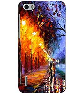 HUAWEI HONOR 6 PAINTING Back Cover by PRINTSWAG
