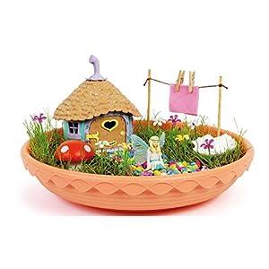 Fairy Garden-4615 Casita de Las Hadas,, única (CEFA Toys 04615)