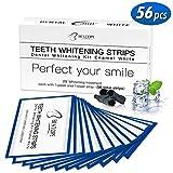 BESTOPE 56pcs White Stripes Zahnaufhellung Bleaching Set für Weiße Zähne mit No Slip Technology Teeth Whitening Zahnpflege Set