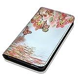 Hülle Galaxy S7 Hülle Samsung S7 G930F Schutzhülle Handyhülle Flip Cover Case Samsung Galaxy S7 G930F (OM1102 Orchidee Schmetterling Rosa Grün Blau)