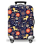 #3: Jelinda Luggage Suitcase Cover Super Lightweight Elastic Dust-Proof Wear-Resistant Luggage Protector for 18-28 inch (S)
