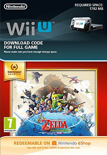 The Legend of Zelda: Wind Waker HD Select (Nintendo Wii U) (Nintendo Wii Zelda)