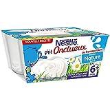 Nestlé p'tit onctueux au fromage blanc saveur nature 4x100g dès 6 mois - ( Prix Unitaire ) - Envoi Rapide Et Soignée
