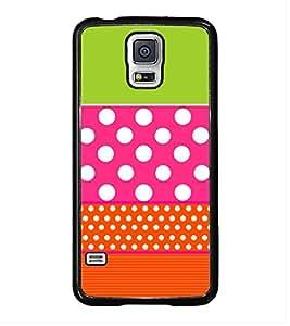 Fiobs Designer Back Case Cover for Samsung Galaxy S5 Mini :: Samsung Galaxy S5 Mini Duos :: Samsung Galaxy S5 Mini Duos G80 0H/Ds :: Samsung Galaxy S5 Mini G800F G800A G800Hq G800H G800M G800R4 G800Y (jaipur rajasthan african america cross pattern)