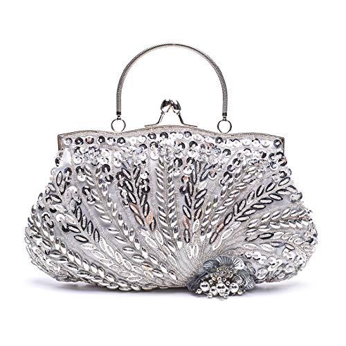 VENI MASEE Vogue Einfache Party Clutch Bag, Abschlussball Abend Handtasche, Geschenkideen - Farben Verschiedenen -