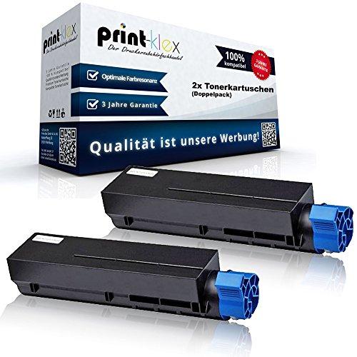 Preisvergleich Produktbild 2x Kompatible Tonerkartuschen für OKI OKI B412 B412DN B432 B432DN B512 B512DN 45807106 45807102 45807111 - Premium Pro Serie