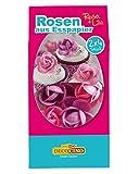 Horror-Shop Rosa & lila Rosen aus Esspapier für Hochzeits- & Geburtstags Torten