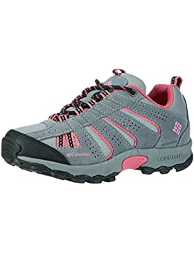 Columbia Youth North Plains Waterproof, Zapatillas de Deporte Exterior Niñas