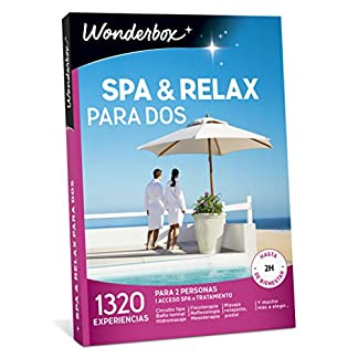 pack wonderbox spa y relax