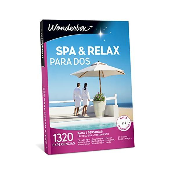 pack wonderbox spa y relax