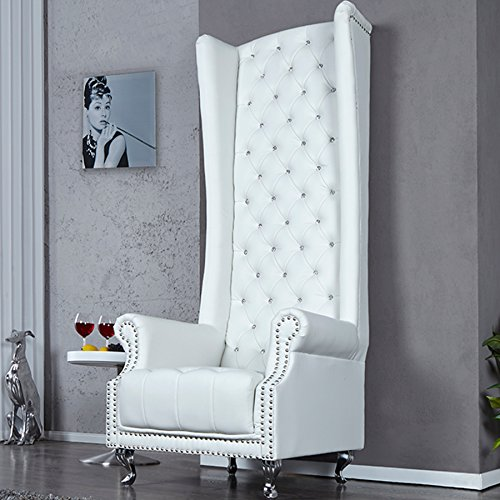 Invicta Interior 18533 Sessel Royal Chair, Weiss