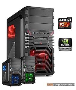 Gaming PC AMD, FX-6300 6x3.5 GHz, 16GB DDR3, 1TB HDD, GTX1050 2GB, Windows 10 (Testversion), Spiele Computer zusammengestellt in Deutschland Desktop Rechner
