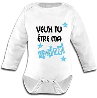T-Shirt b/éb/é Maman Veux-tu /épouser Papa ?