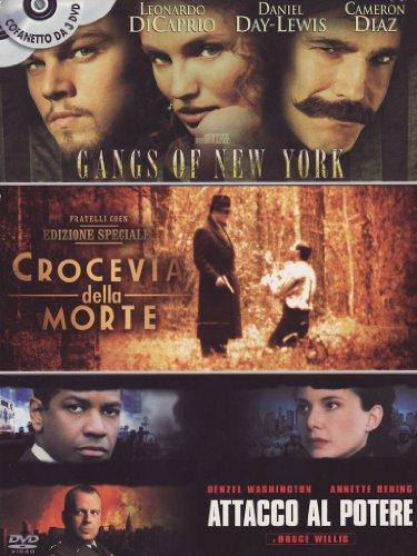 Preisvergleich Produktbild Gangs of New York + Crocevia della morte + Attacco al potere [3 DVDs] [IT Import]