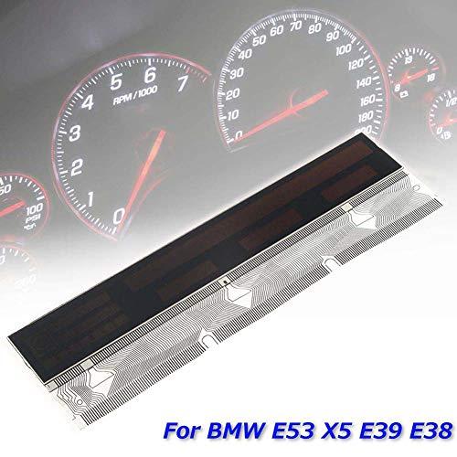 YSHtanj LCD Display Display Display Auto Innenteile Reparatur Werkzeug Tachometer Instrument LCD und Pixel Reparatur Band Kabel für BMW E38 E39 X5 E53
