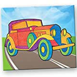 Toy Kraft Sandart Pictures on Road, Mult...