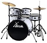 XDrum Rookie Fusion Schlagzeug Komplettset White
