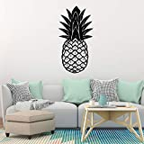 jiushizq New Pineapple Wall Stickers Decorative Sticker Home Decor for Living Room Bedroom Wall DecalGray L 42cm X 81cm