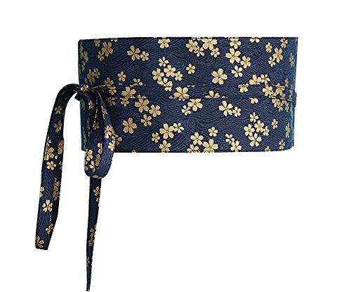 Kimono Obi Yukata Obi Taillengürtel Bund Muster Harajuku [E] (Cardigan Band Wrap)