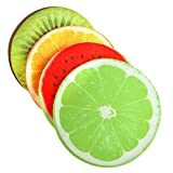 TiooDre Cuscino Creativo 3D Fruit Cotone PP Sedia da Ufficio Indietro Cuscini del Divano Cuscini Decorazione Domestica (Frutta)