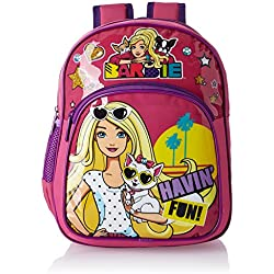 Barbie Pink and Purple Children's Backpack (Age group :2-4 yrs)