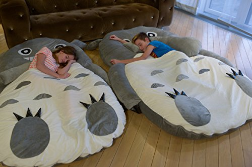 Totoro Cartoon Bett Matratze Smiling Single/Double Sitzsack, Lounge X/X/XXL (1,8 m X 1,2 M...