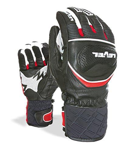 Level Erwachsene Handschuhe Race, Red, 9, 3023UG