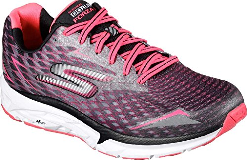 Skechers Go Run Forza 2019, Chaussures Multisport Outdoor Femme Black