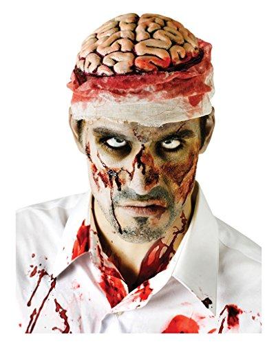 Bloody Zombie Brain Halloween Scary Accessory Adult Fancy (Kostüm Gehirn Hut)