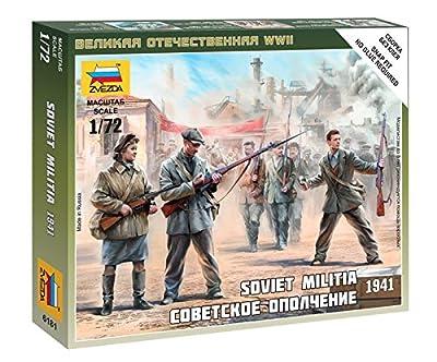 Zvezda - Zv6181 - Milice Soviétique 1941
