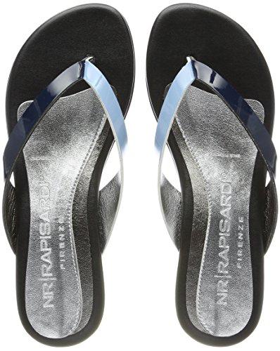 NR RAPISARDI Abby, Tongs Femme Blau (Nevy/Blue Ecopatent)